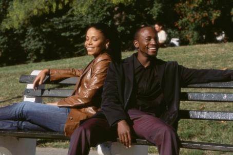 Taye Diggs Sanaa Lathan and  in Fox Searchlight's Brown Sugar - 2002