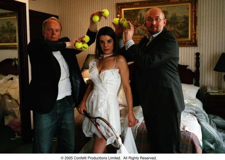 Confetti L to R: Jason Watkins as Gregory Hough, Meredith MacNeill as Isabelle and Vincent Franklin as Archie in  - 2006