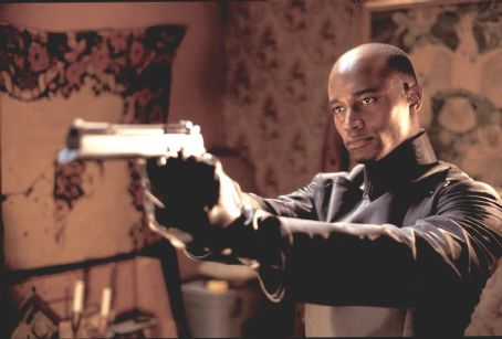 Taye Diggs  in Miramax's Equilibrium - 2002