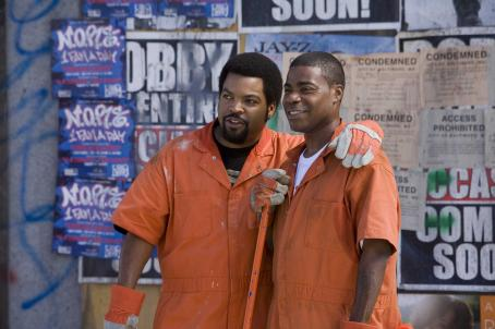 Tracy Morgan Ice Cube and  in Sony Pictures' First Sunday. Photo by: Tony Rivetti Jr. © 2007 Screen Gems, Inc. All Rights Reserved.