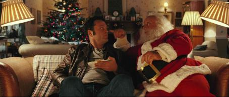 "Paul Giamatti VINCE VAUGHN as Fred Claus and PAUL GIAMATTI as Santa Claus in Warner Bros. Pictures' comedy ""Fred Claus,"" distributed by Warner Bros. Pictures. Photo courtesy of Warner Bros. Pictures"