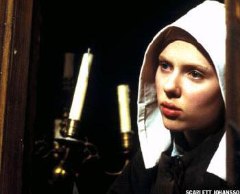 Girl with a Pearl Earring Scarlett Johansson stars as Griet in  - 2003