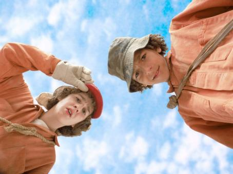 Holes Dogged by bad luck, Stanley Yelnats (Shia LaBeouf, left) has no clue he's in for the adventure of his life when he's sent to Camp Green Lake, where he and his campmates – including Zero (Khleo Thomas, right) – are forced to dig a h