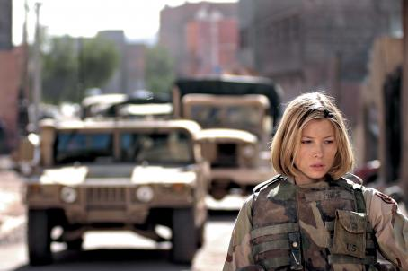 Home of the Brave Jessica Biel stars in the story of three soldiers who return home to the United States after an unexpectedly gruesome tour of duty in Iraq.  HOME OF THE BRAVE opens December 15, 2006 in Los Angeles, New York, Toronto and select cities. Photo by: Courtesy