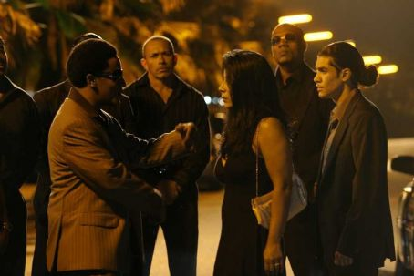 Rick Gonzalez Right:  as Wilson De Leon, Jr. in Universal Pictures' Illegal Tender - 2007