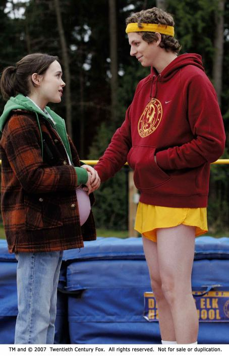 Juno From left: Ellen Page and Michael Cera in JUNO. Photo Credit: Doane Gregory