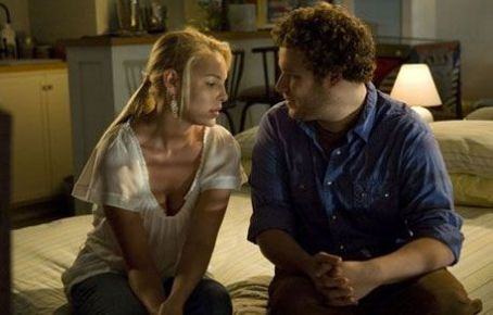 Knocked Up Katherine Heigl as Alison Scott and Seth Rogen as Ben Stone in Universal Pictures'  - 2007