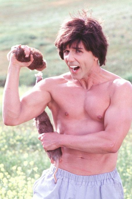 Kung Pow: Enter the Fist The Chosen One (Steve Oedekerk) uses a variation of the classic martial arts weapon nunjakus - 'gopher-jakus' - while fighting the bad guys in 20th Century Fox's Kung Pow!: Enter The Fist - 2002