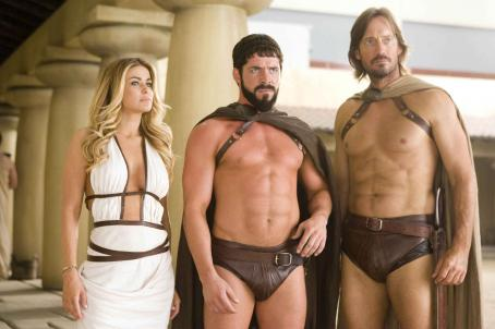 Sean Maguire In MEET THE SPARTANS, Carmen Electra,  and Kevin Sorbo and a cast of...dozens...parody the film '300.' Photo credit: Doug Hyun