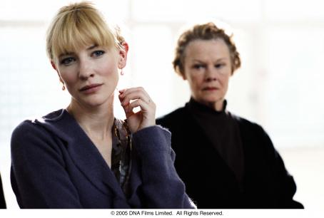 Notes on a Scandal Cate Blanchett and Judi Dench in NOTES ON A SCANDAL. Photo Credit: Clive Coote.