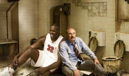 "Phil McGraw Shaquille O'Neal and Dr.  star as themselves in a spoof of ""SAW"" in David Zucker's Scary Movie 4."