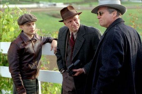 Seabiscuit Tobey Maguire, Chris Cooper and Jeff Bridges in Universal's  - 2003