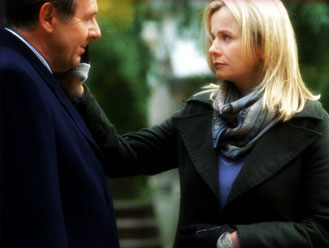 Emily Watson Tom Wilkinson (James Manning) and  (Anne Manning) in Julian Fellowes' Drama/Romance Separate Lies - 2005, distributed by Fox Searchlight