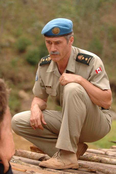 Roy Dupuis  star as Lt. Gen. Romeo Dallaire in Shake Hands with the Devil.