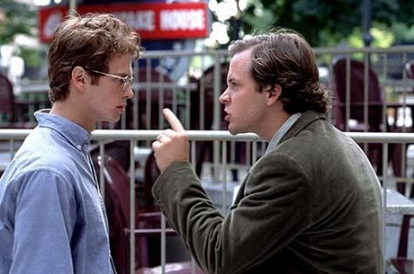 Shattered Glass Hayden Christensen and Peter Sarsgaard in  - 2003