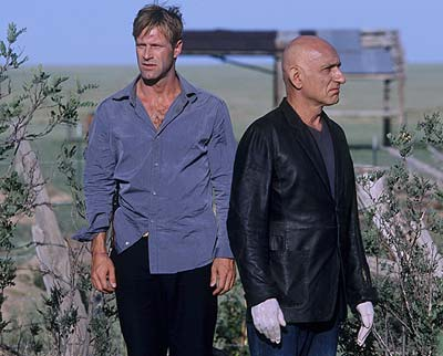 Suspect Zero Aaron Eckhart and Ben Kingsley in  - 2004
