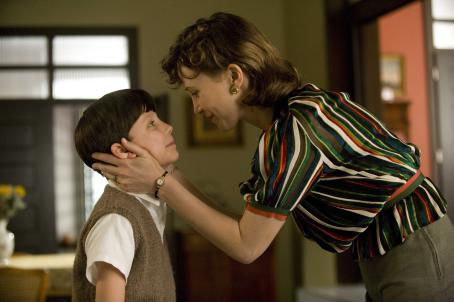Asa Butterfield  as Bruno and Vera Farmiga as Mother. Credit: David Lukacs/Miramax Films