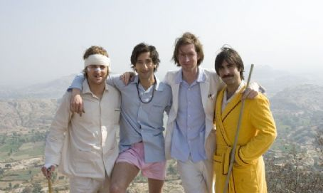 Owen Wilson, Adrien Brody, Wes Anderson and Jason Schwartzman in FoxSearchlight Pictures' The Darjeeling Limited.