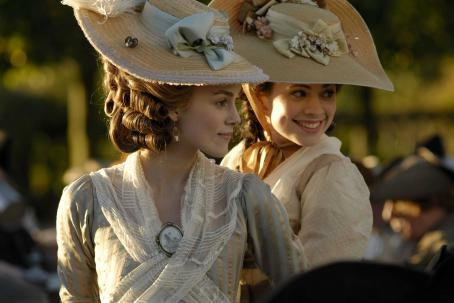 "Hayley Atwell  as ""Elizabeth 'Bess' Foster"" and Keira Knightley as ""Georgiana, the Duchess of Devonshire"" star in THE DUCHESS, a Paramount Vantage release. Photo by Nick Wall. (c) 2008 by PARAMOUNT VANTAGE, a Division of"
