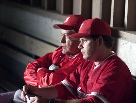 Powers Boothe  and Sean Astin in The Final Season, a Yari Film Group release.  ©2007 Yari Film Group Releasing.