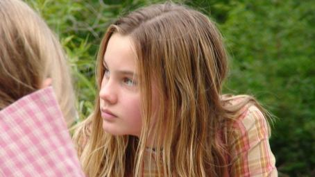 Liana Liberato Cadi Forbes, played by , struggles to learn the secrets of the true sin eater. © 2007 Twentieth Century Fox Home Entertainment FoxFaith LLC. All Rights Reserved.