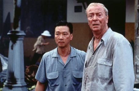 The Quiet American Tzi Ma and Michael Caine in Miramax's  - 2002