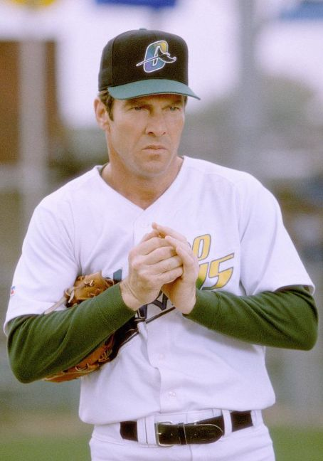 The Rookie Dennis Quaid as Jim Morris in Walt Disney's  - 2002