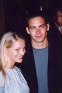 Bliss Ellis Paul Walker and  - 19 oct 1998 Westwood