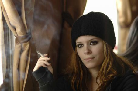 Transsiberian Abby, played by Kate Mara, is a lost young woman traveling  with her boyfriend on the  Train from Shanghai to Moscow in the feature film, TRANSSIBERIAN. Photo credit: José Haro, courtesy of First Look Studios.