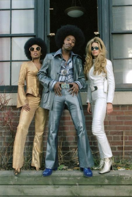 Aunjanue Ellis , Eddie Griffin and Denise Richards in Universal's Undercover Brother - 2002