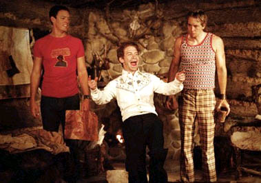 Matthew Lillard , Seth Green and Dax Shepard in Without a Paddle - 2004