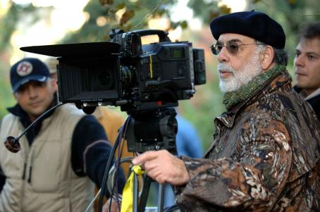 Francis Ford Coppola  on set of Youth Without Youth. Photo by ©2007 courtesy Sony Pictures Classics.  All Rights Reserved.