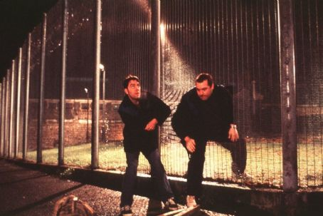 Lucky Break James Nesbitt as Jimmy and Frank Harper as John Tombes in Paramount's  - 2002