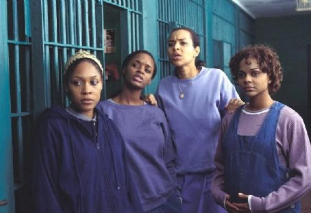 Monica Calhoun , N'Bushe Wright, Lisa Raye and Larke Voorhies in Civil Brand
