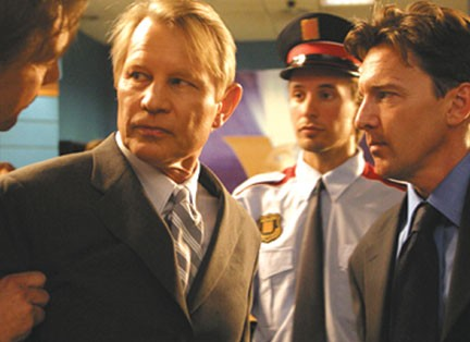 Andrew McCarthy a scene from Sony Pictures' thriller, Crusader, starring Michael York and .