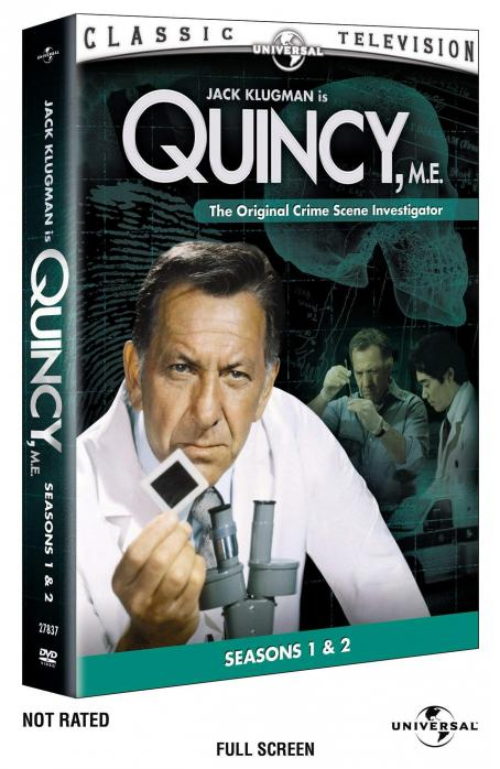 Quincy M.E. Quincy, M.E. Box Art DVD