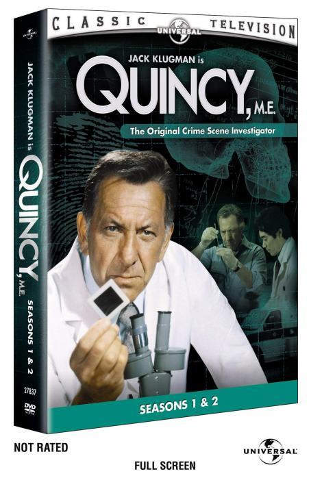 Quincy M.E. Quincy, M.E. Box Art DVD