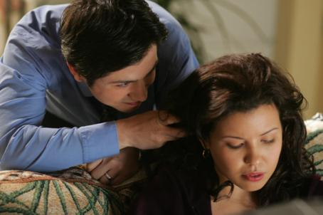 Justina Machado  as Vanessa Diaz in HBO' drama/comedy Six Feet Under: Fifth Season - 2005