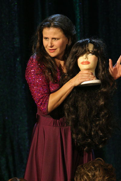 Tracey Ullman  as herself in comedy movie : Live and Exposed distributed by HBO.