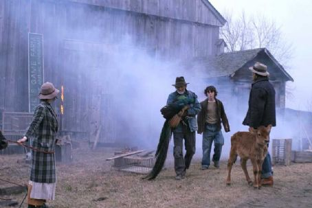 Charlie McDermott Barn fire. Kris Kristofferson as Quebec Bill (middle left) and  as Wild Bill Bonhomme (middle right) in Truly Indie's Disappearances