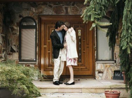 Flannel Pajamas Justin Kirk as Stuart Sawyer and Julianne Nicholson as Nicole Reilly in  - 2006
