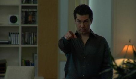 Chris Parnell  as Guy Borne in apartment. Looking For Kitty directed by Edward Burns.