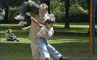Peter Paige  stars as Paul as well as directs TLA Releasing's Say Uncle - 2006