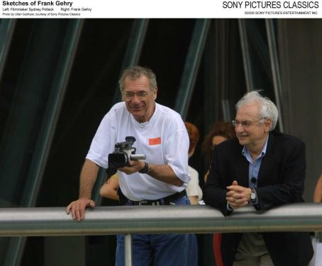 Sydney Pollack Left: Filmmaker ; Right: Frank Gehry; Photo by Ultan Guilfoyle, courtesy of Sony Pictures Classics