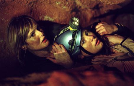 MyAnna Buring Rebecca (Saskia Mulder) and Sam () from THE DESCENT. Photo credit: Alex Bailey