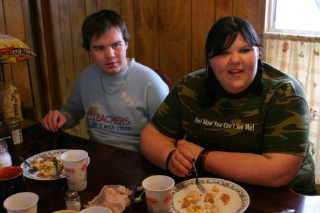 Fat Girls Ash Christian (Rodney), Ashley Fink (Sabrina) in  - 2007