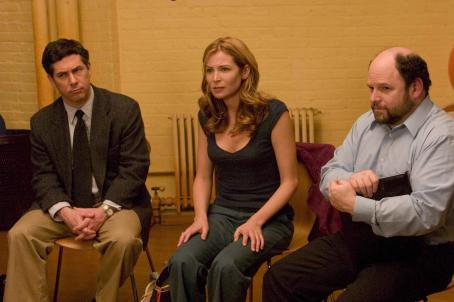 Chris Parnell , Jennifer Westfeldt and Jason Alexander in IRA & ABBY, a Magnolia Pictures release. Photo courtesy of Magnolia Pictures.