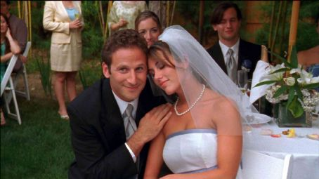 Mark Feuerstein  as Greg and Tara Magalski as Kate in Sing Now or Forever Hold Your Peace - 2007