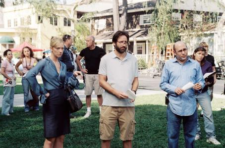 Judy Greer  , David Duchovny and Willie Garson in The TV Set - 2007