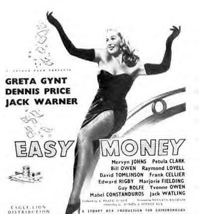 Easy Money (1948) Poster